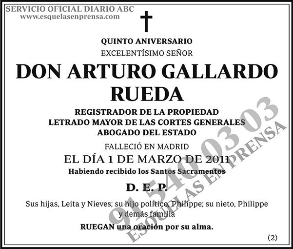 Arturo Gallardo Rueda